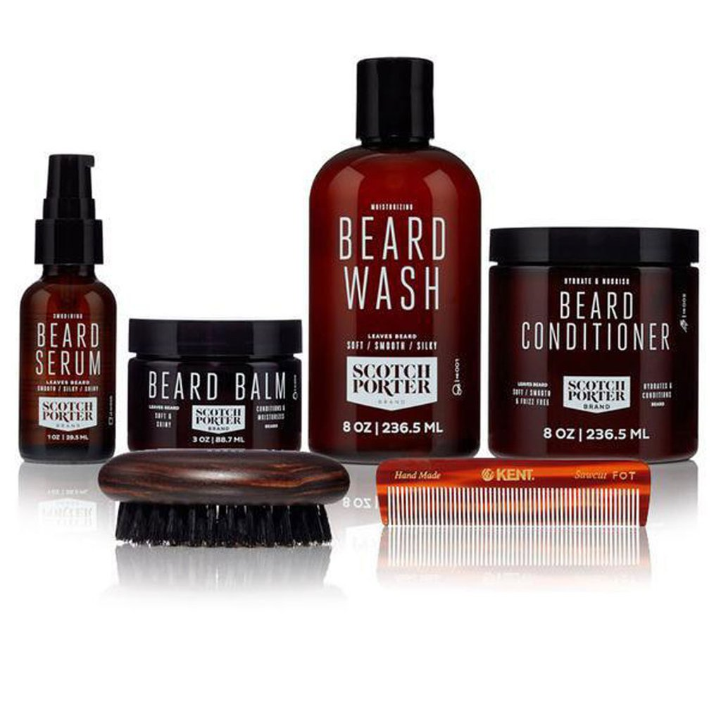 Black People Beard Grooming Kit